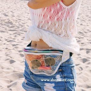 Handbags - Juno Clear Belt Bag / Fanny Pack
